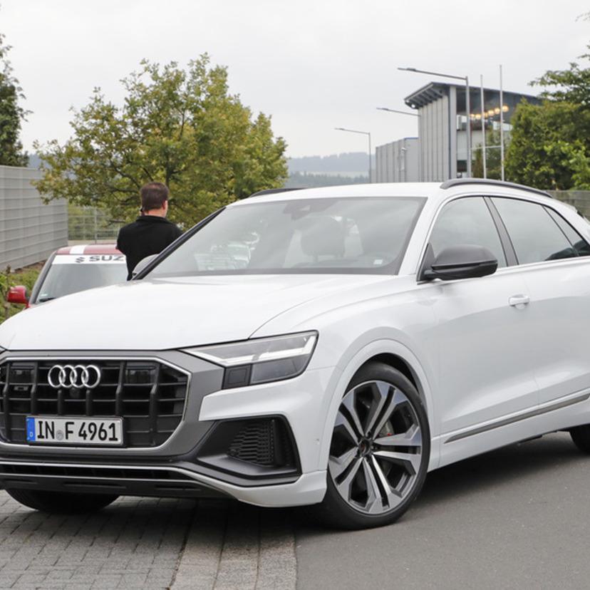 2019 Audi Q8 Camshaft: 【画像あり】アウディ「SQ8」がスクープ!発売は2019年か?
