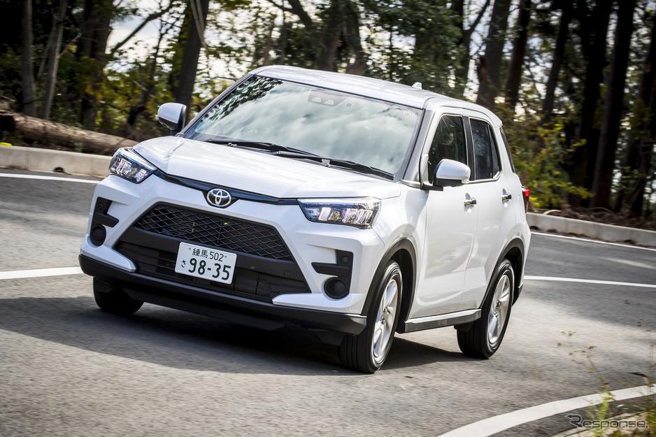 トヨタ 新型 車 ライズ