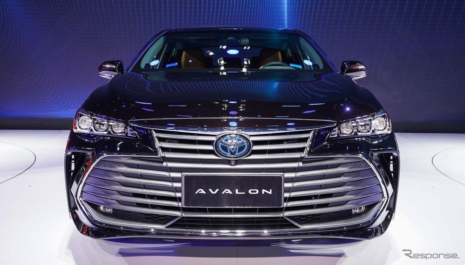 トヨタの最上級セダン アバロン新型が中国投入!アバロンの情報まとめ